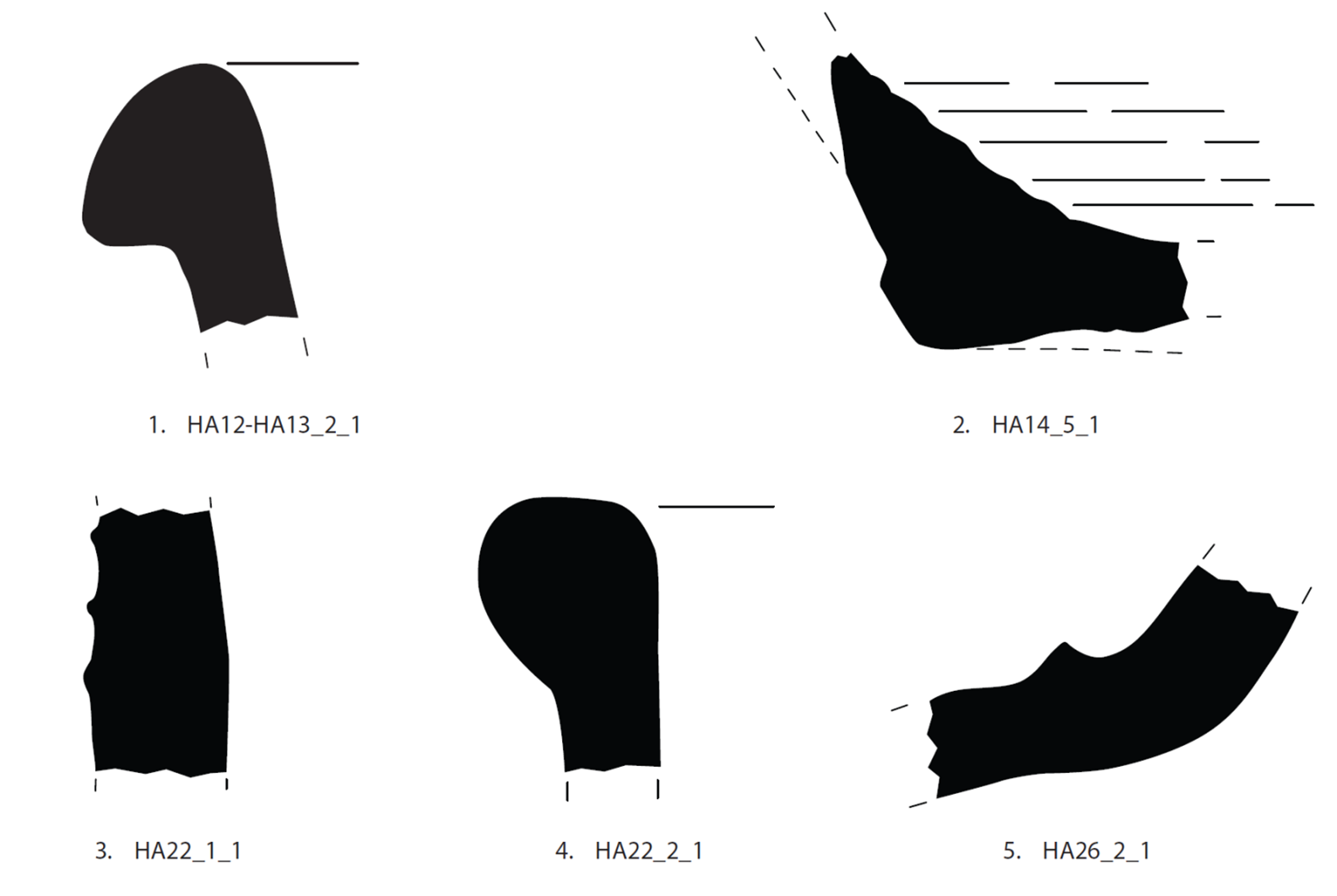 Fig. 16- Late Cypriot pithos fragments from Hadjiabdullah