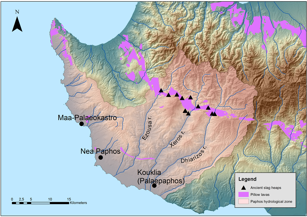 Fig. 2- The Paphos hydrological zone