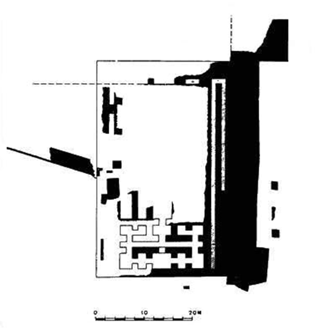 BM-4. The ground plan of the Hadjiabdullah Palace