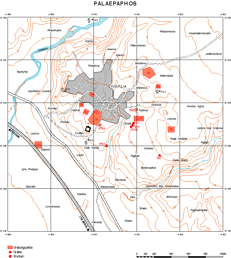 1. Areas investigated by the Swiss-German Mission