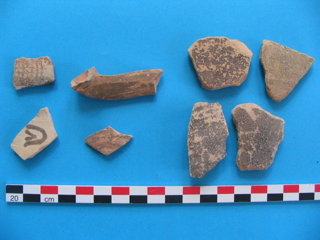 13. LBA pottery from Area 3