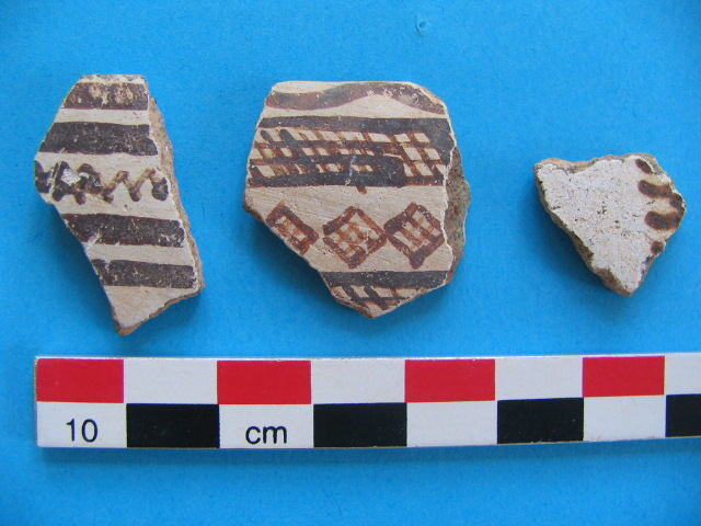 14. White Slip pottery from Area 3