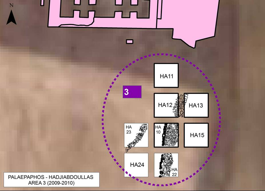 5. Excavation of Area 3 at Hadjiabdullah