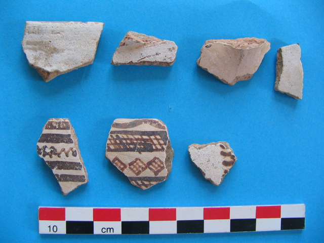 11. White Slip pottery from Hadjiabdullah