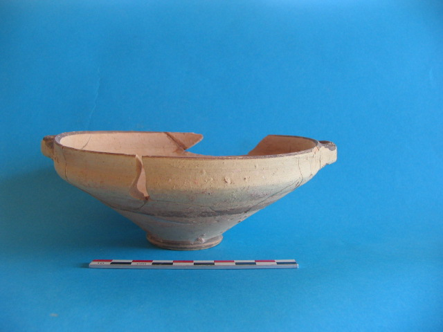 2. White Painted Wheelmade III shallow bowl from Marcello