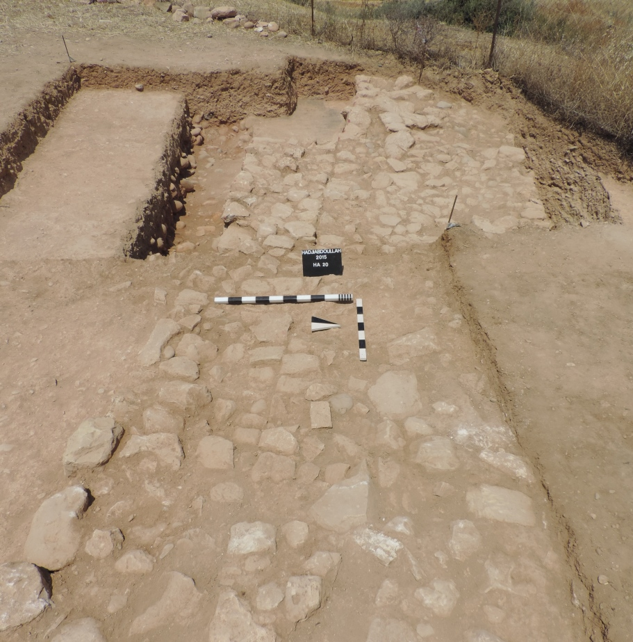 5. The main wall excavated in HA20 HA27