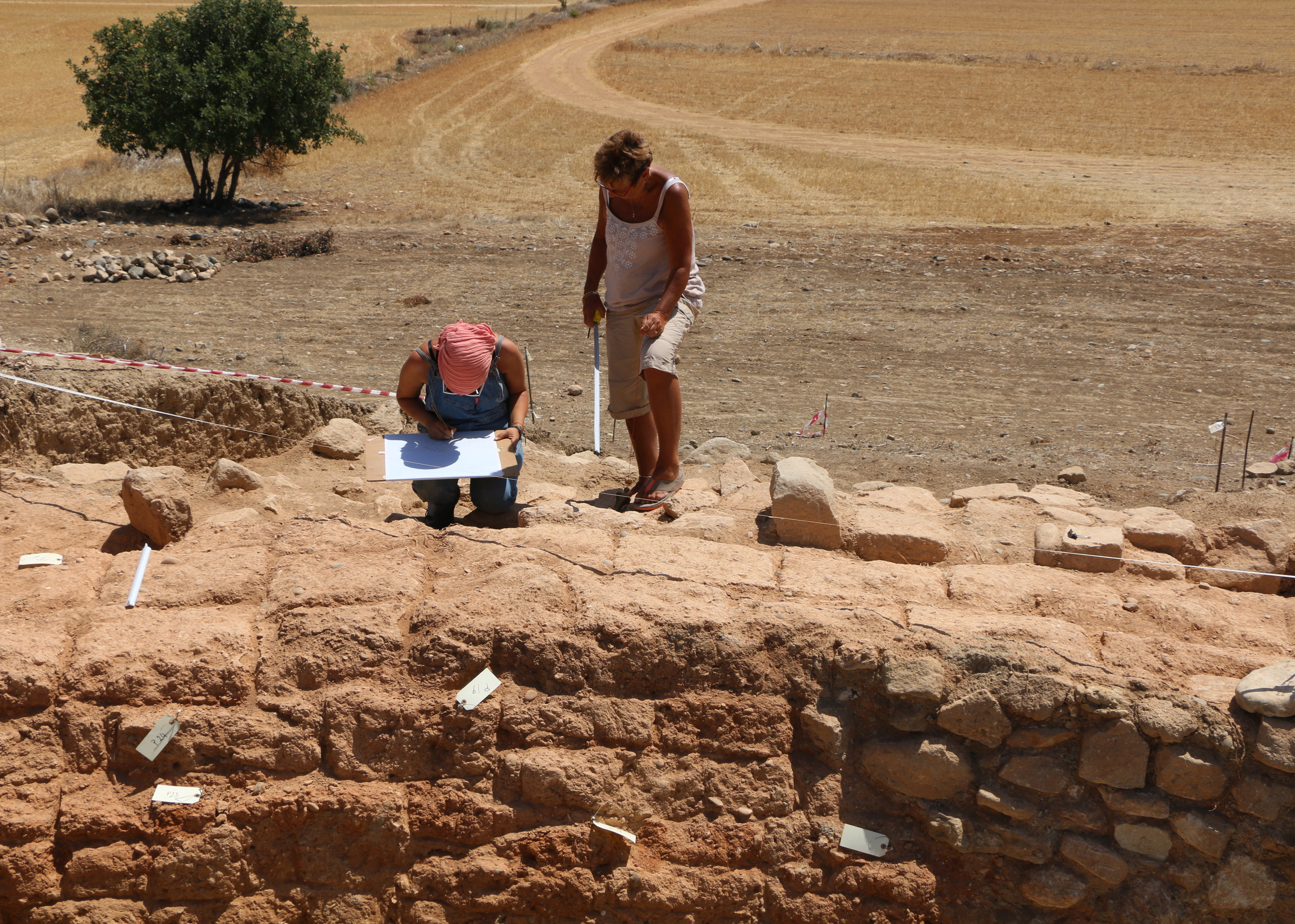 10. Drawing the Laona mudbrick wall